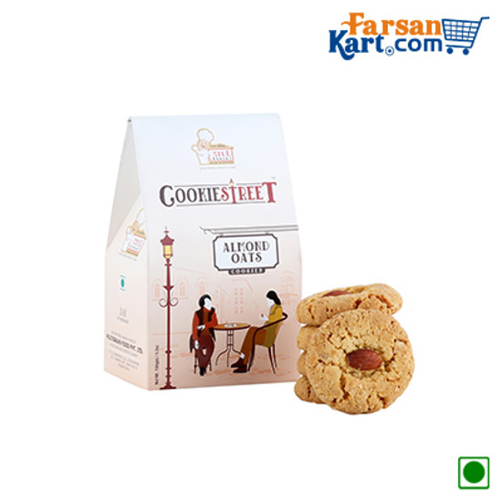 Almond Oats Cookies Pack Of 3