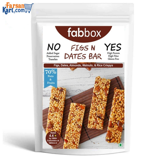 Picture of Figs N Date Health Bar (2 Bars) (Pack of 2)