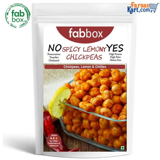 Spicy Lemony ChickPeas 140 gms(Pack of 2)