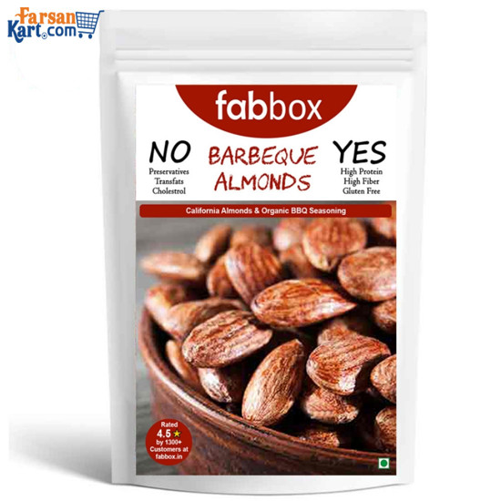 Barbeque Almonds 125 gms