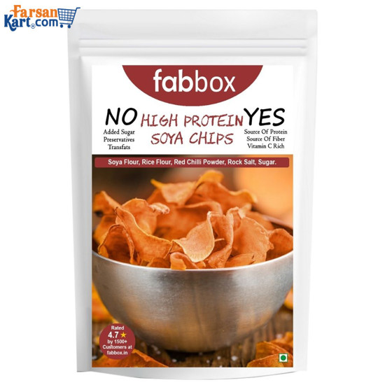 High Protein Soya Chips 210 gms