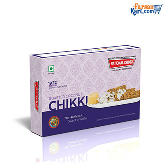 Roasted Coconut Chikki(Pack of 2)